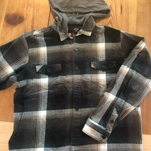 Element Shirts - Element XL Boys'/ S Mens' Flannel Shirt/Hoodie